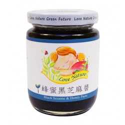 蜂蜜黑芝麻醬 (純素) 240g